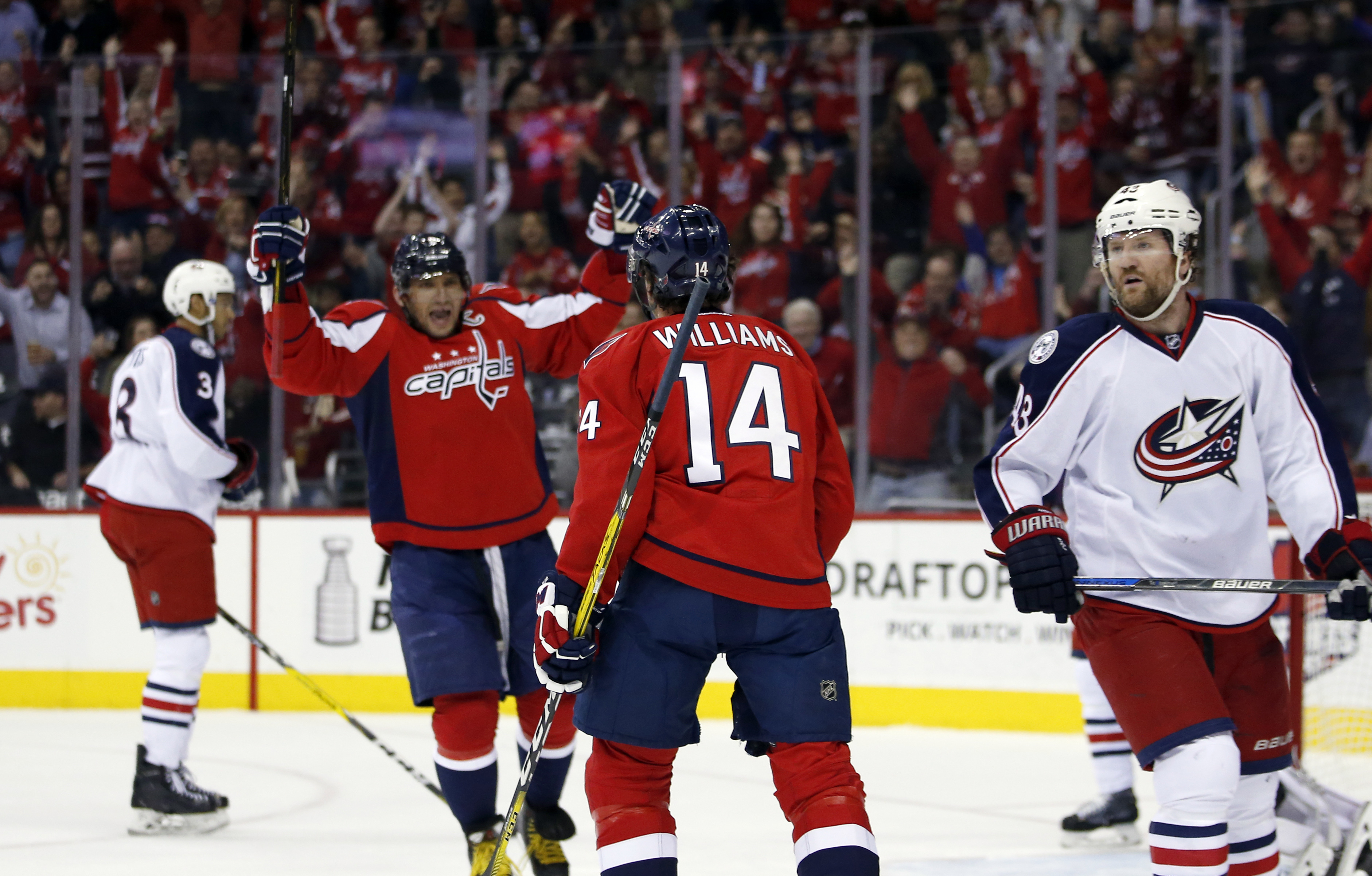 Capitals clinch Presidents&39 Trophy by beating Blue Jackets | WTOP