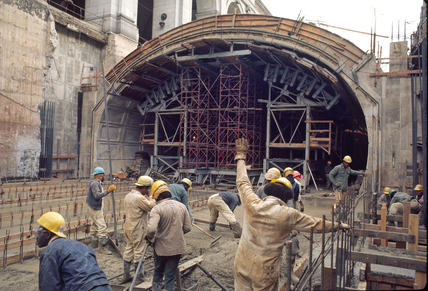 Union Sta Construction