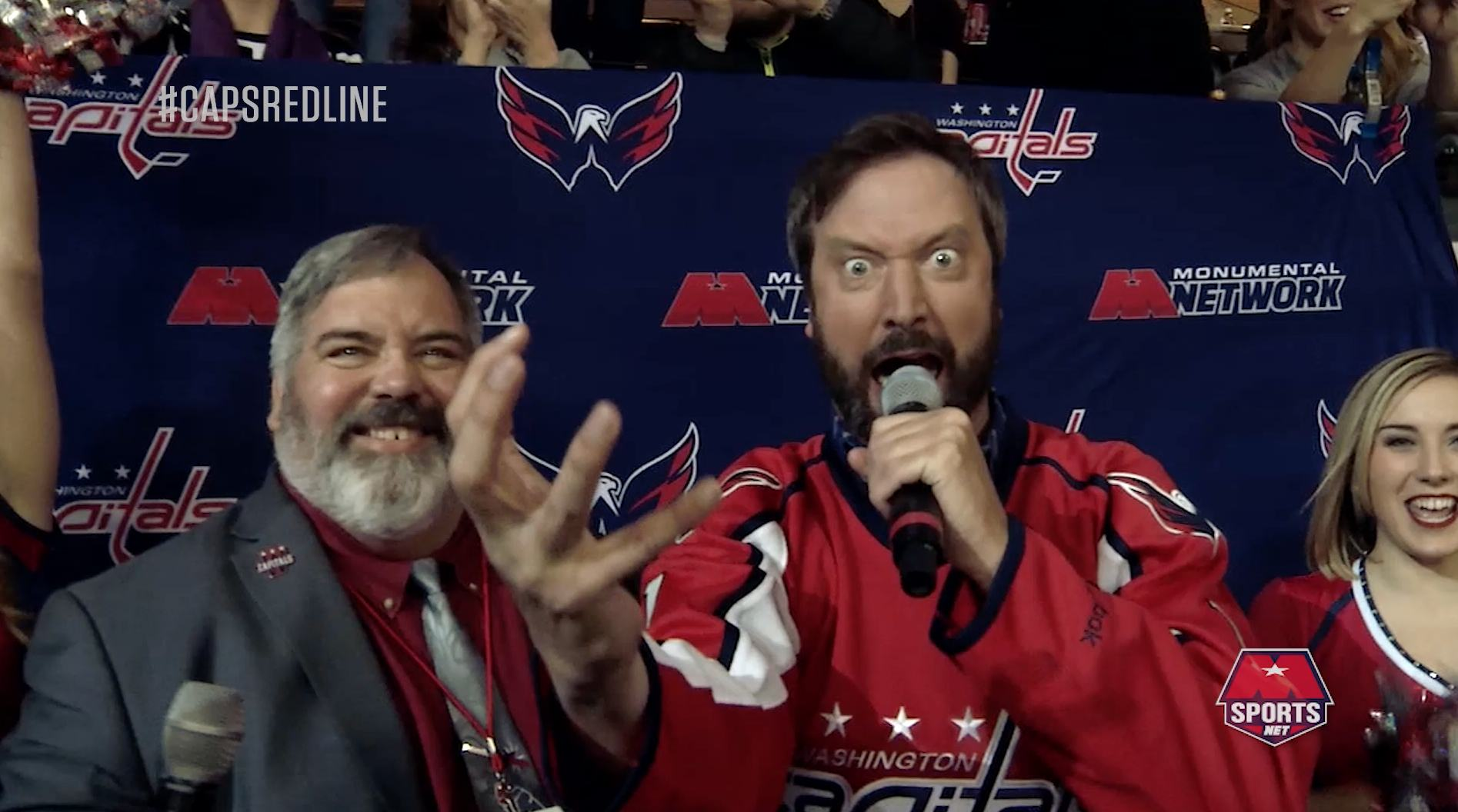 Cruisin' with Tom Green to the Caps Game