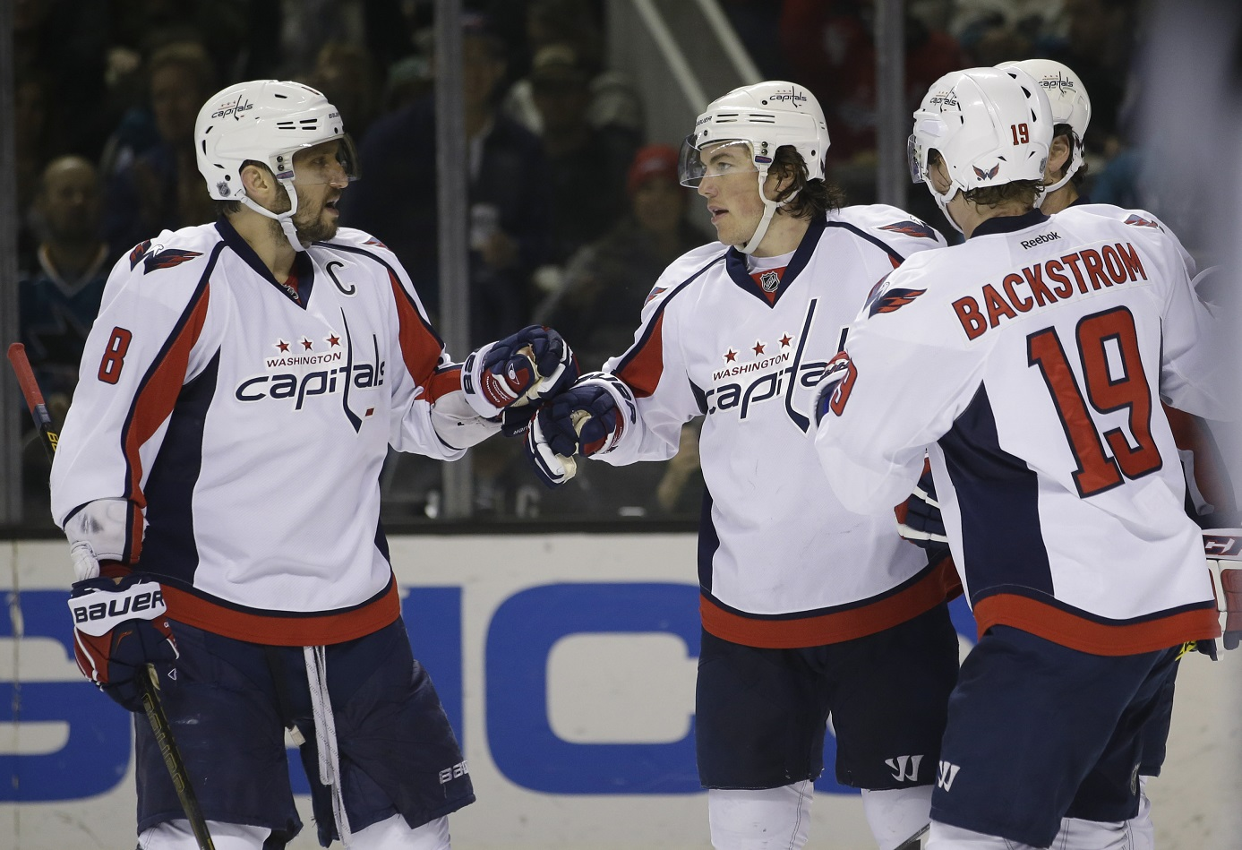 Caps return from West Coast swing hungry for more