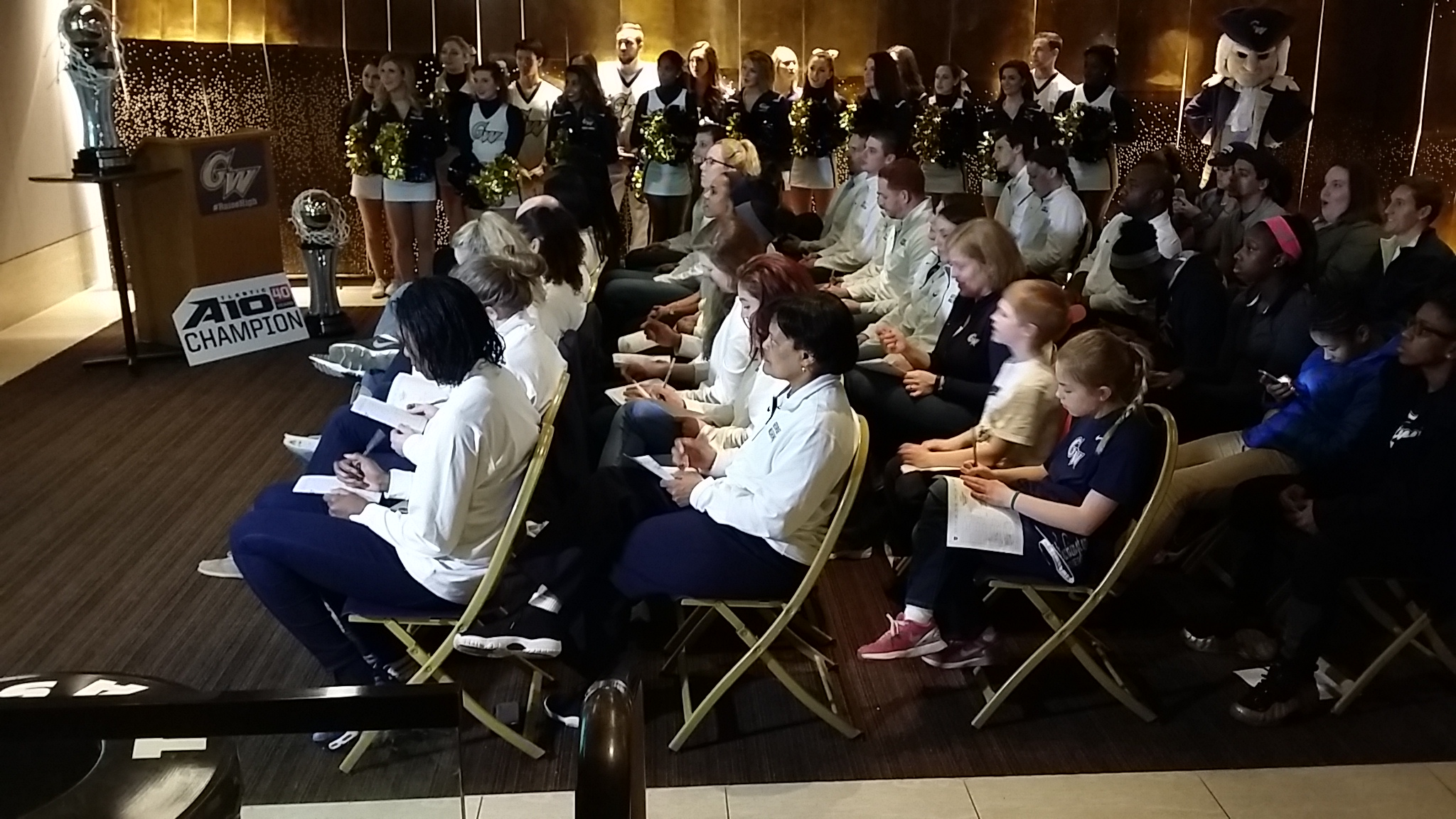 George Washington women to face Kansas State in NCAA Tournament