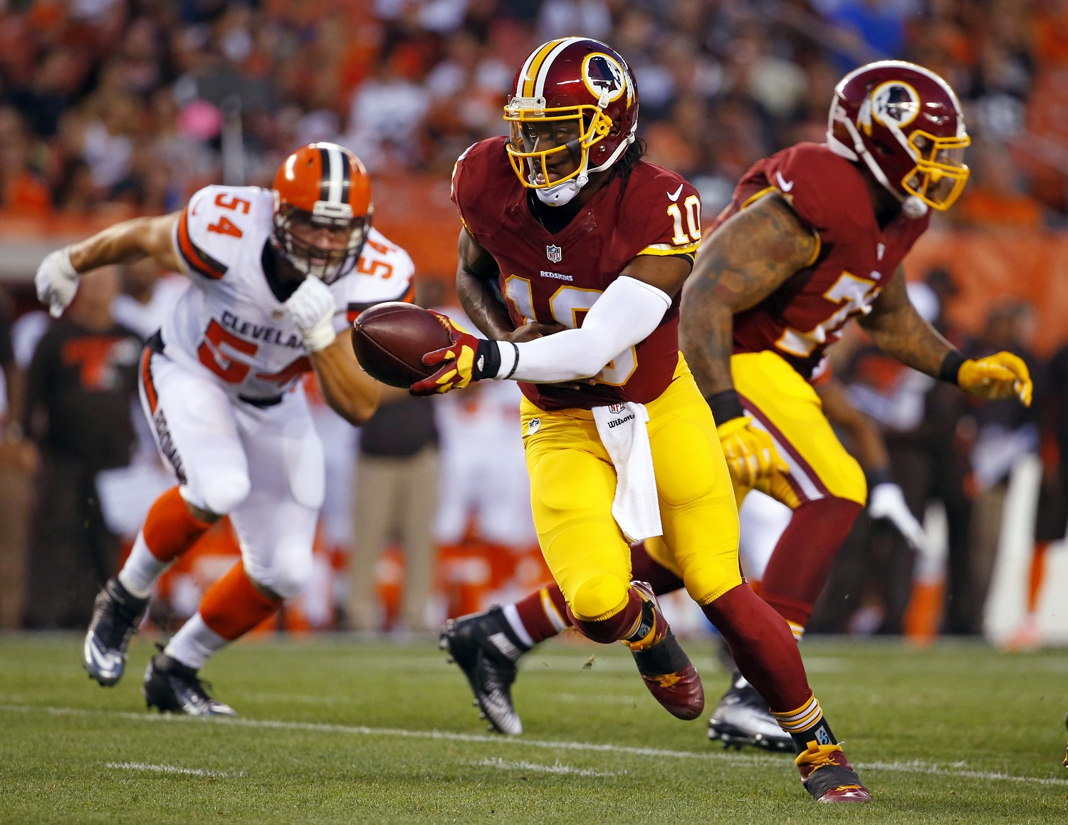 What RG3 to Cleveland would mean for Washington