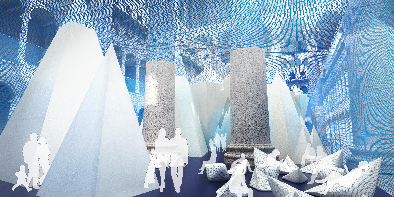 Iceberg exhibit opening in DC