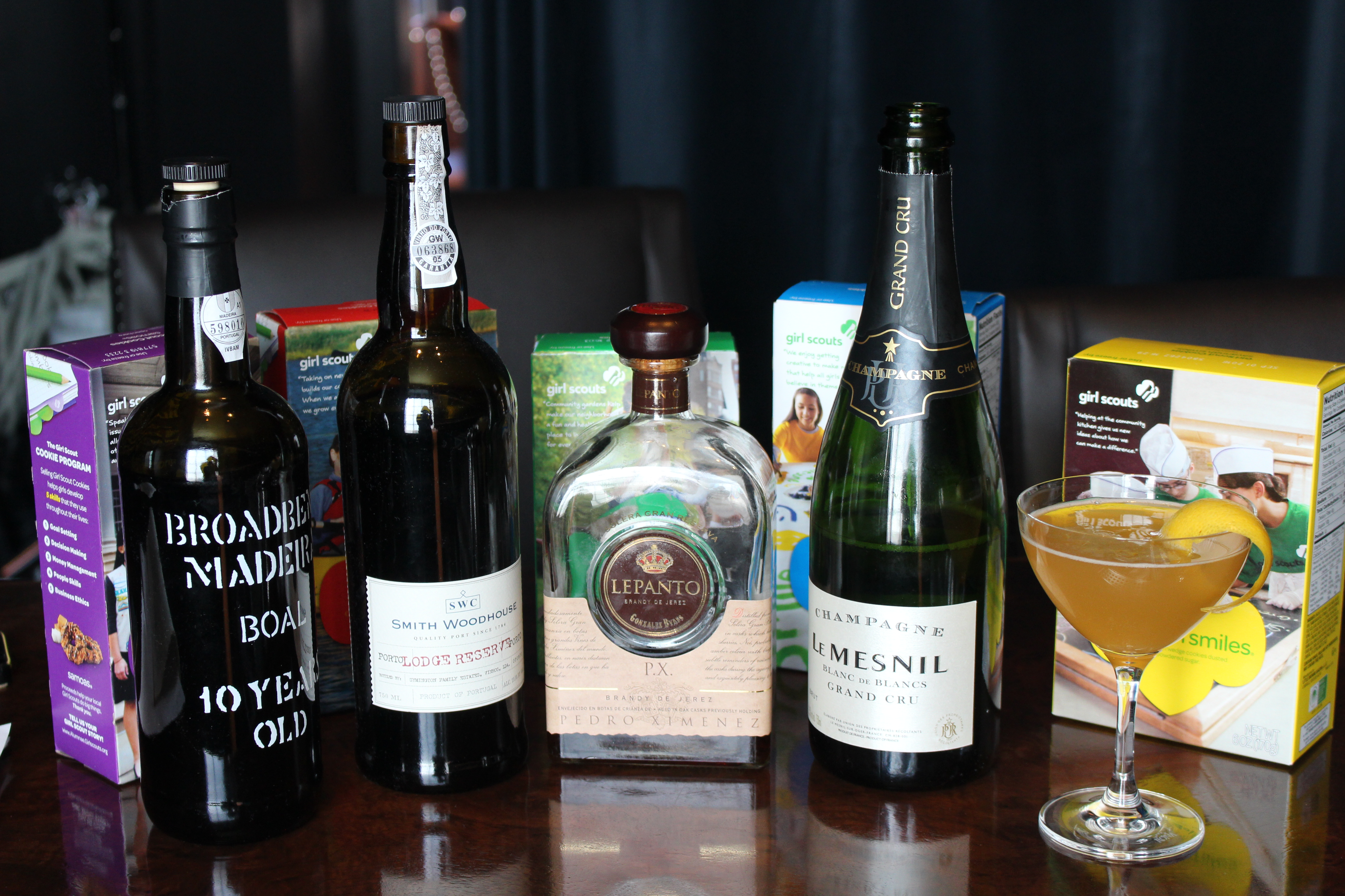 How to pair your Girl Scout cookies with cocktails