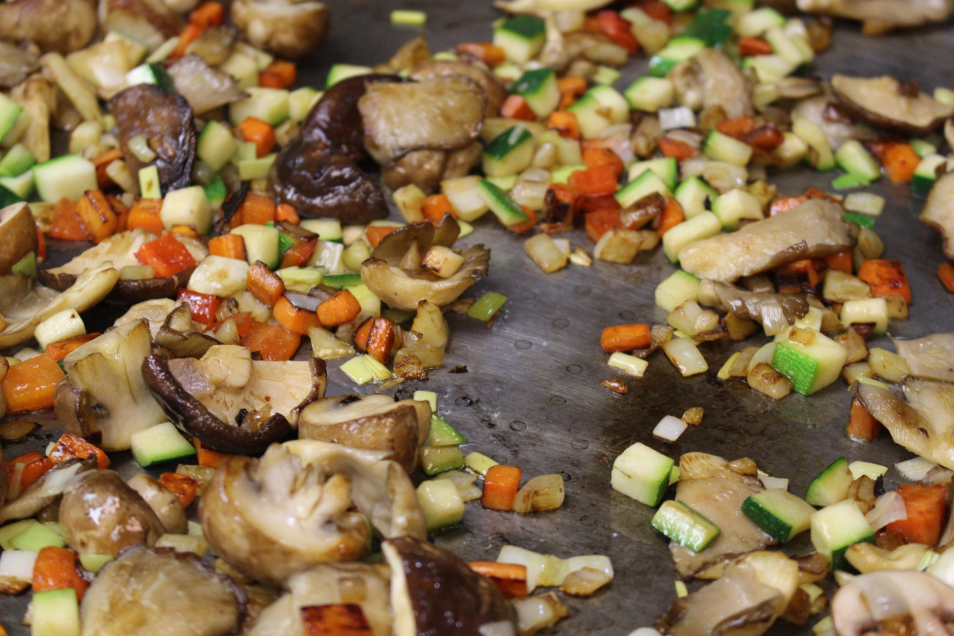 A bit of a crisp, caramelized bottom adds extra flavor. (WTOP/Dana Gooley)
