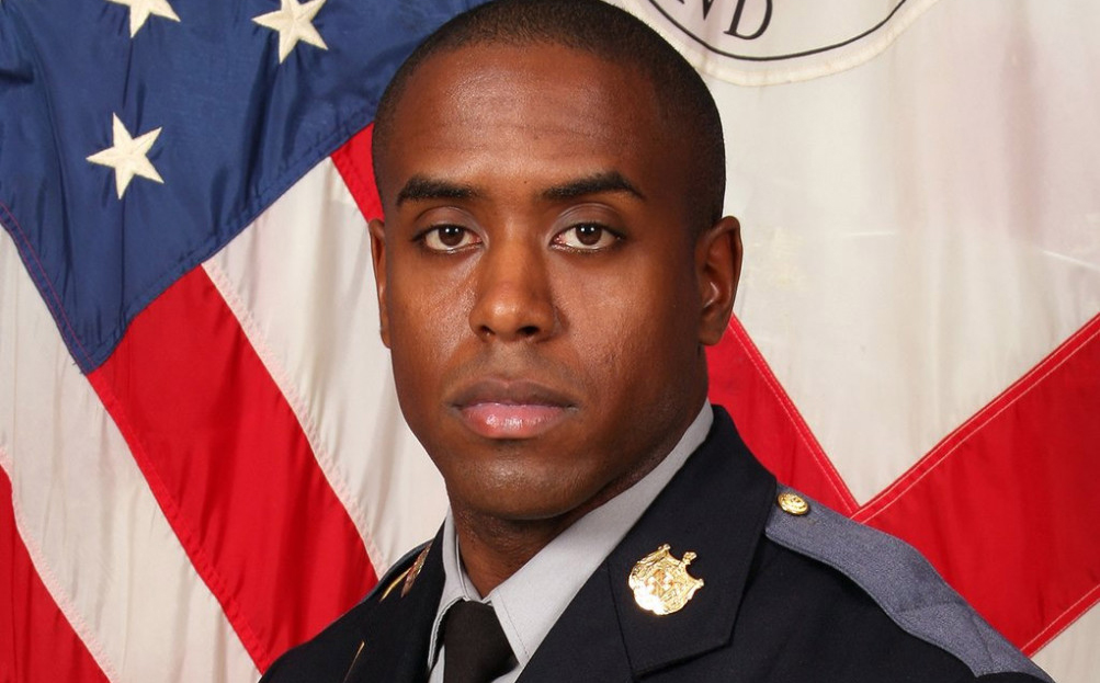 Photos: Prince George's County police officer killed outside station