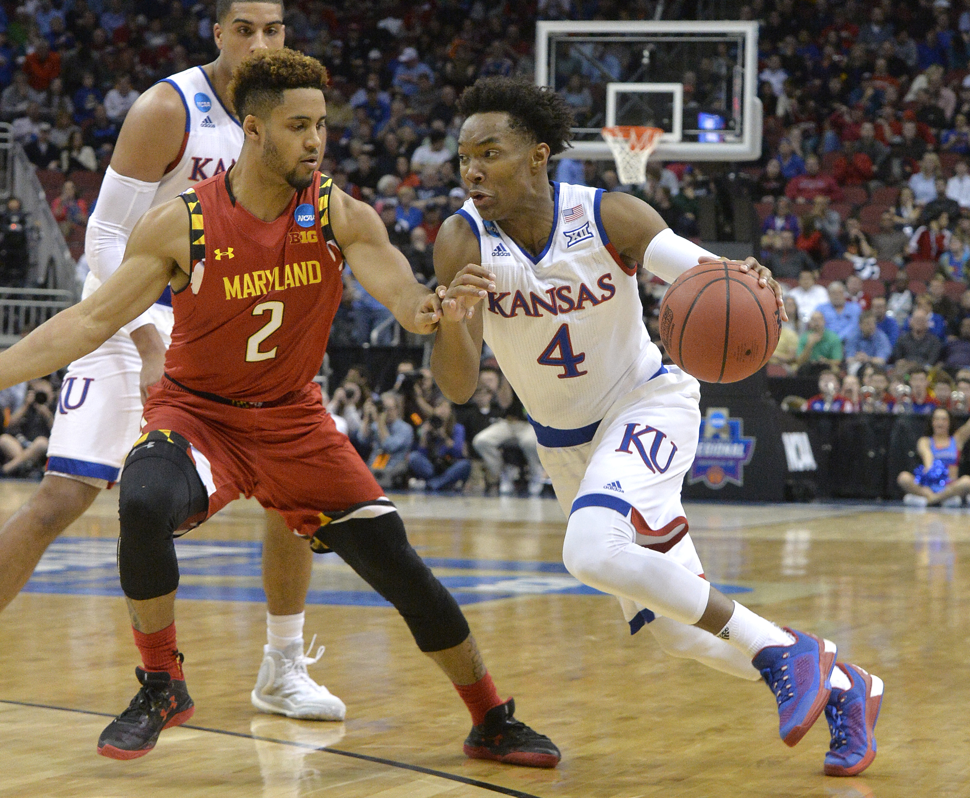 Terps eliminated in Sweet 16 loss to Kansas, 79-63