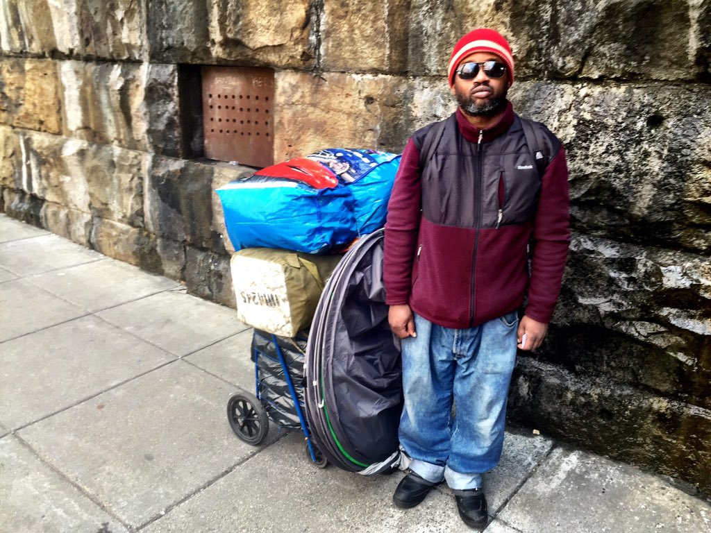 Homeless camp near Union Station taken down