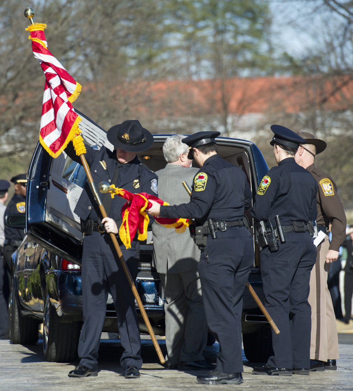 Funeral services held for Ashley Guindon, officer killed in line of
