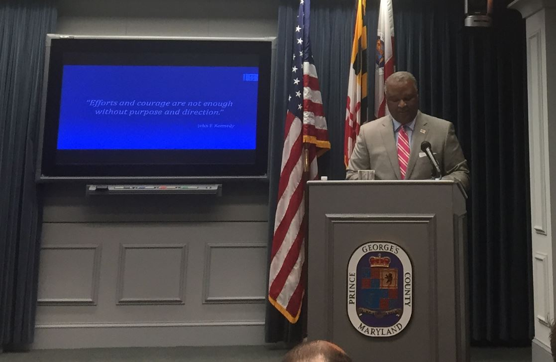 County Executive outlines spending plan for Prince George's Co.