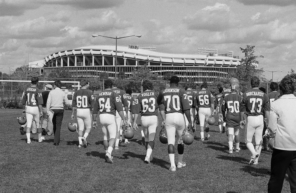 Once home to NFL football, the new RFK site is expected to present options with and without an NFL-sized anchor stadium. (AP Photo/Charles Tasnadi)