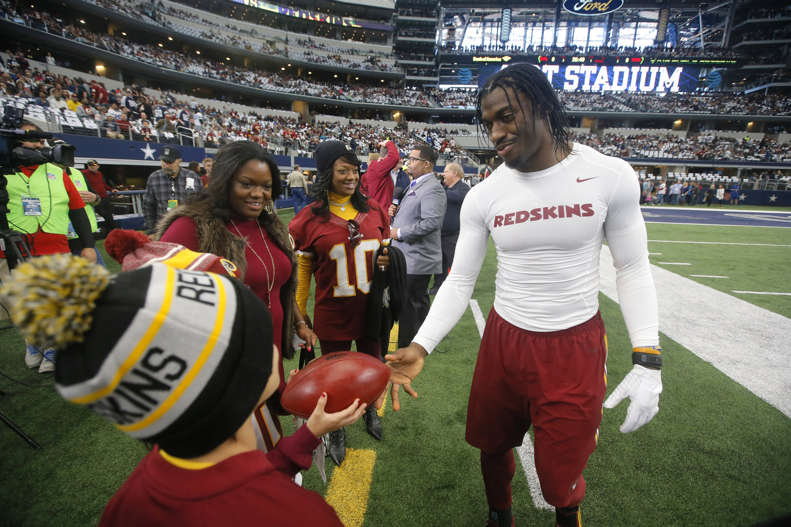 RGIII released by Redskins