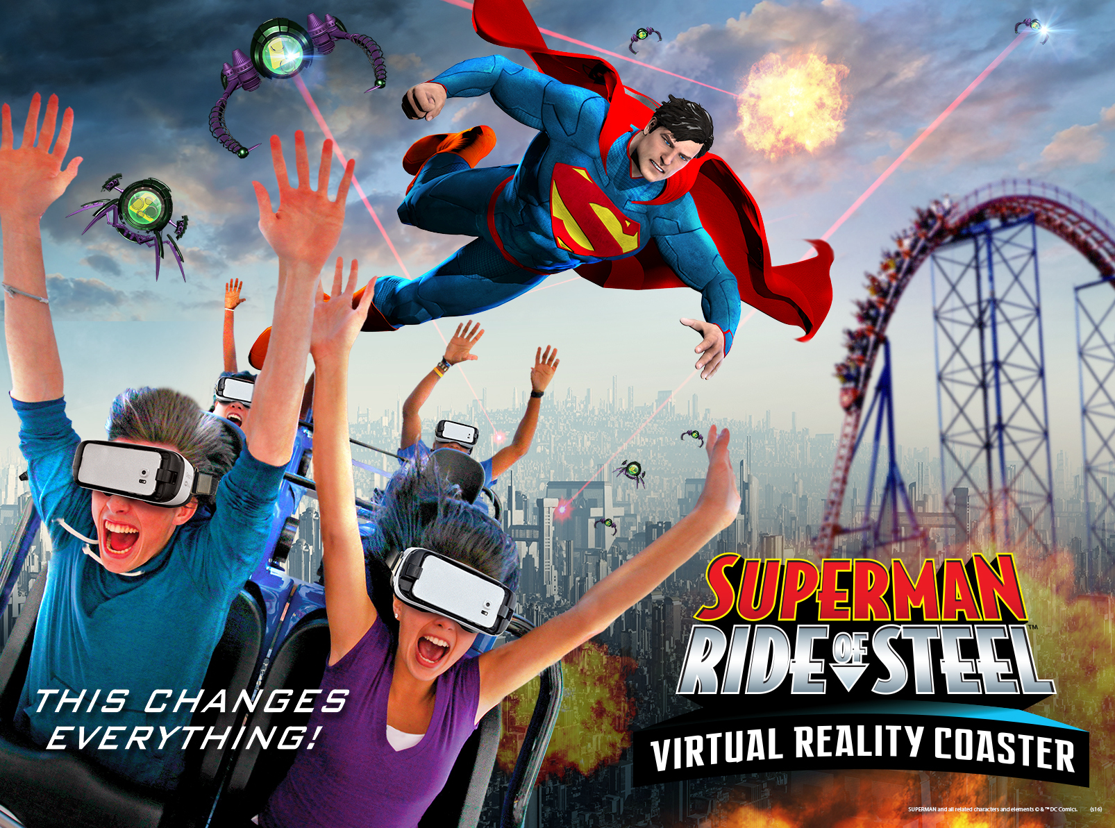 Virtual reality roller coaster coming to Six Flags America