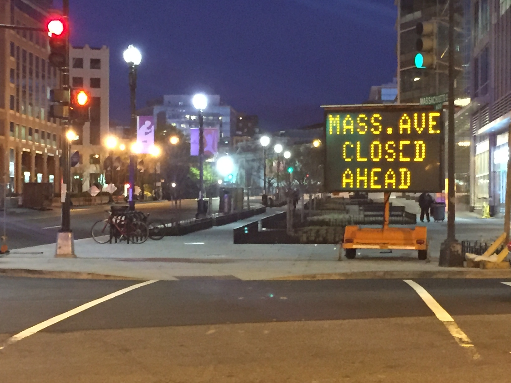 D.C. road closures for 2016 Nuclear Security Summit