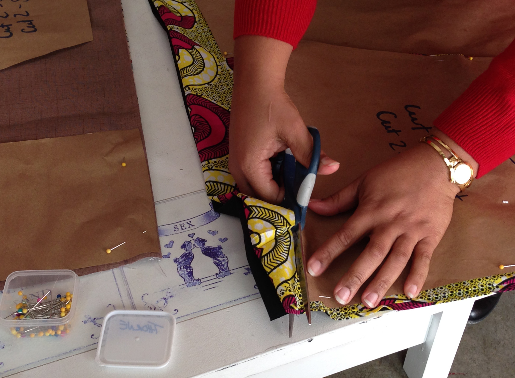 Cecily Habimana and Tisha Thorne, who host Sip and Sew DC events, say they offer these workshops so that sewing doesn't become a lost art. (Courtesy Sip & Sew DC)