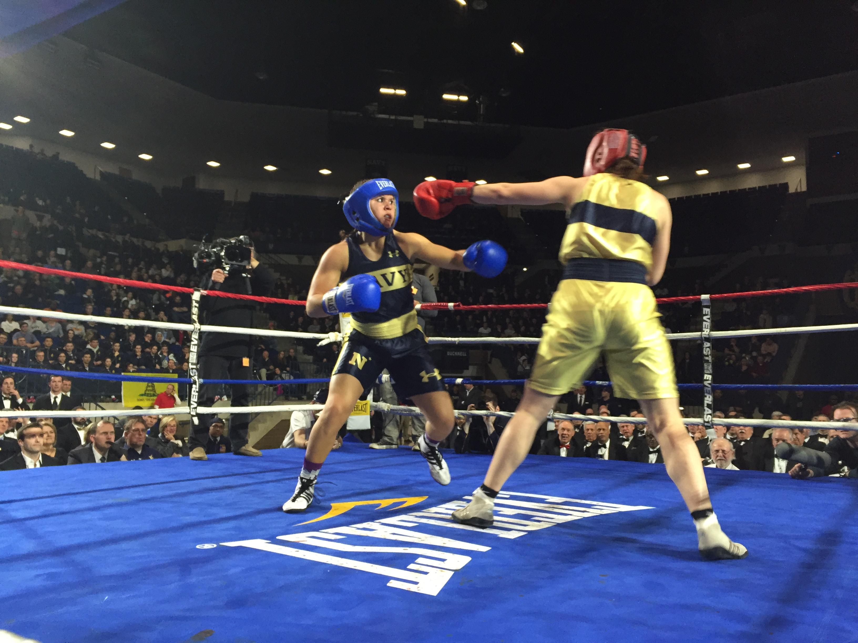 Naval Academy boxers talk failure, determination