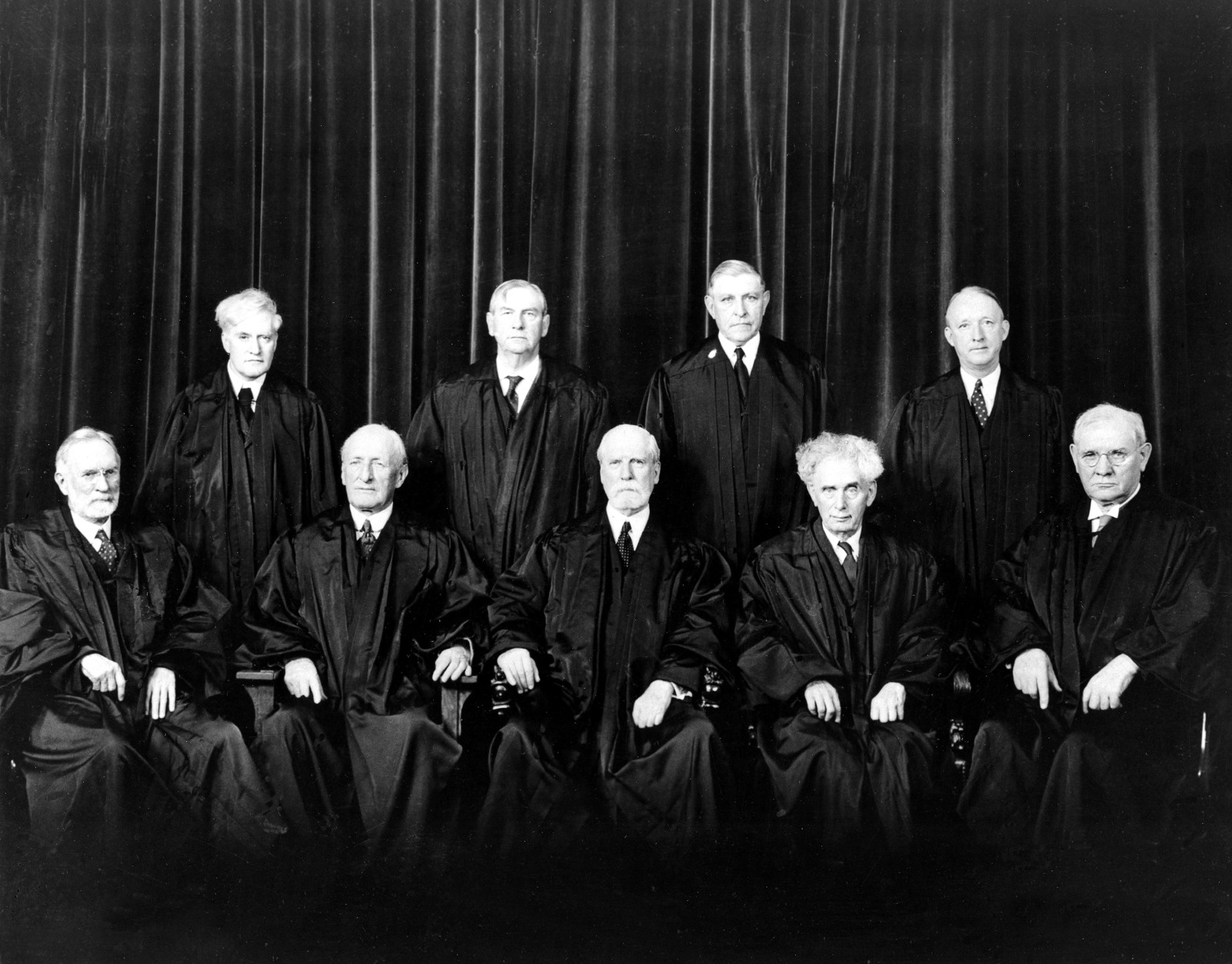 Associated Press Domestic News Dist. of Columbia United States U.S. SUPREME COURT JUSTICES 1937
