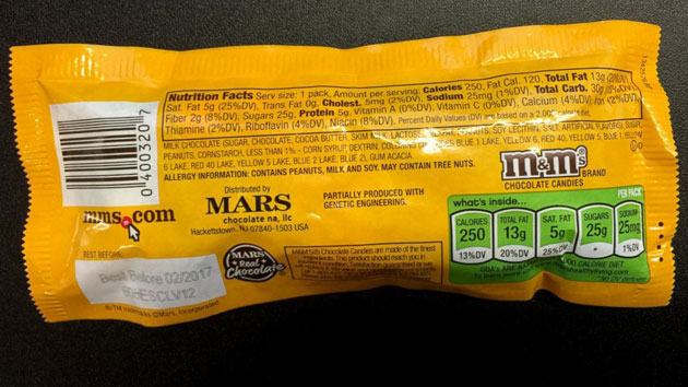Candy maker Mars adding GMO labeling to products