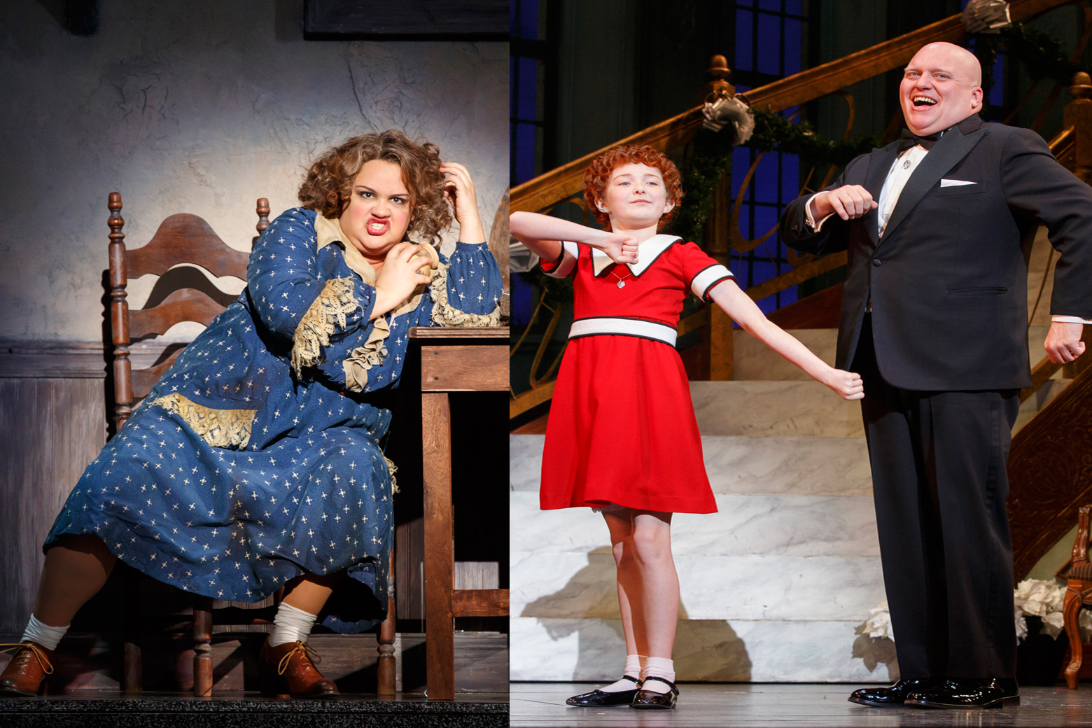 Hard Knock Life: Miss Hannigan talks National Theatre's 'Annie'