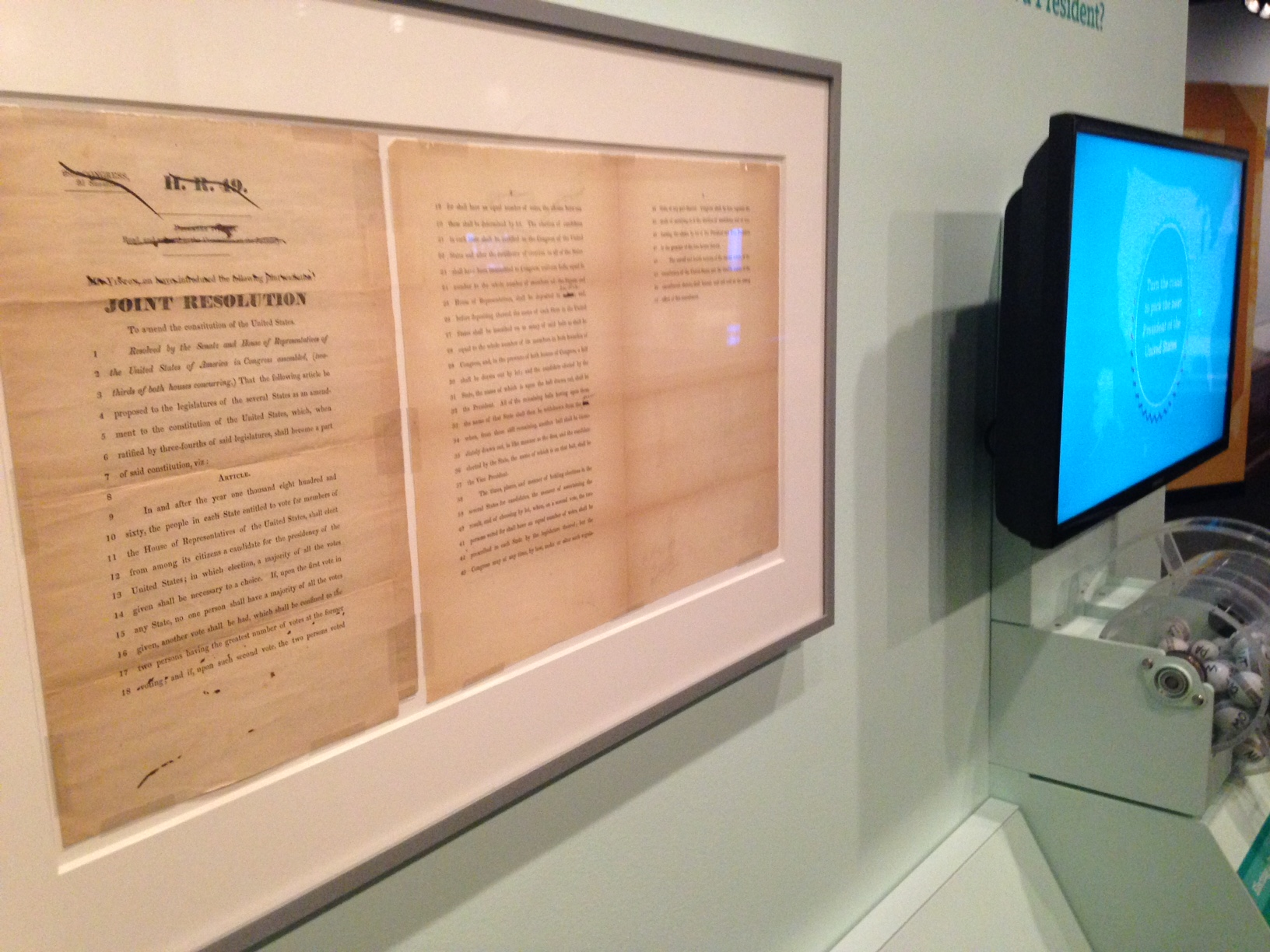 National Archives exhibit shows 11,000 ways the Constitution could have changed