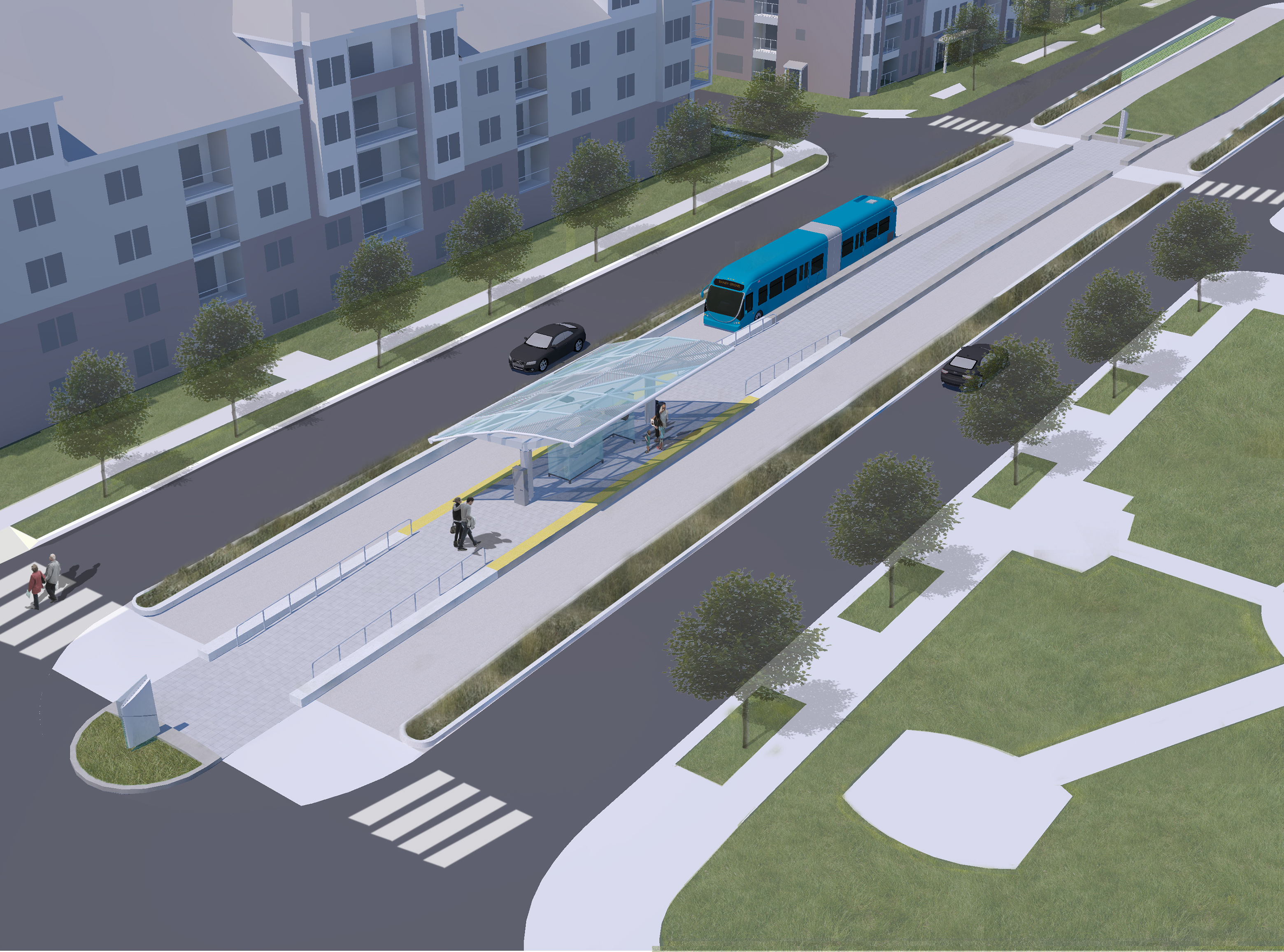 Bus rapid transit taking shape in Montgomery Co.