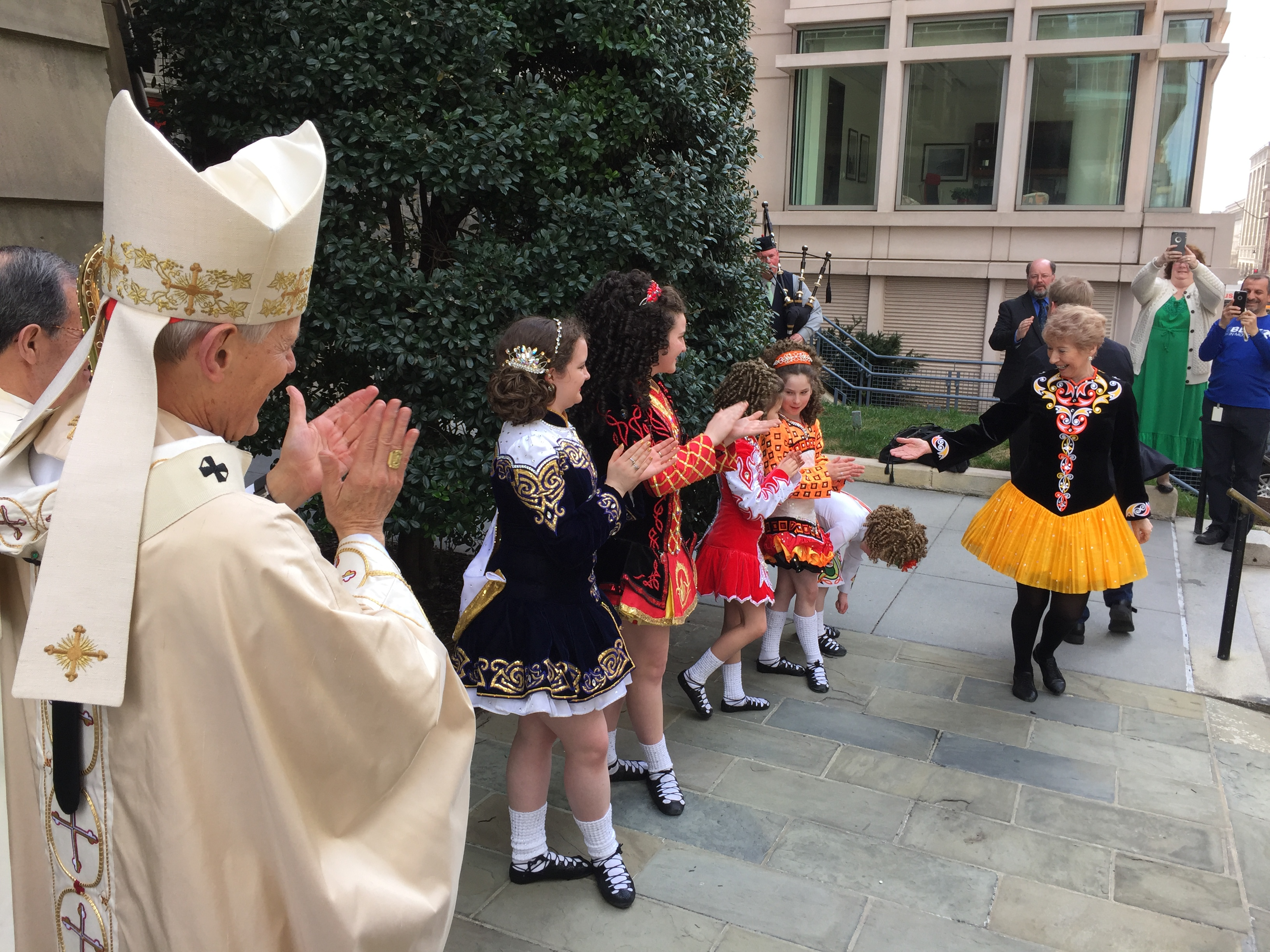 D.C. cardinal preaches St. Patrick's message on holiday (Photos)