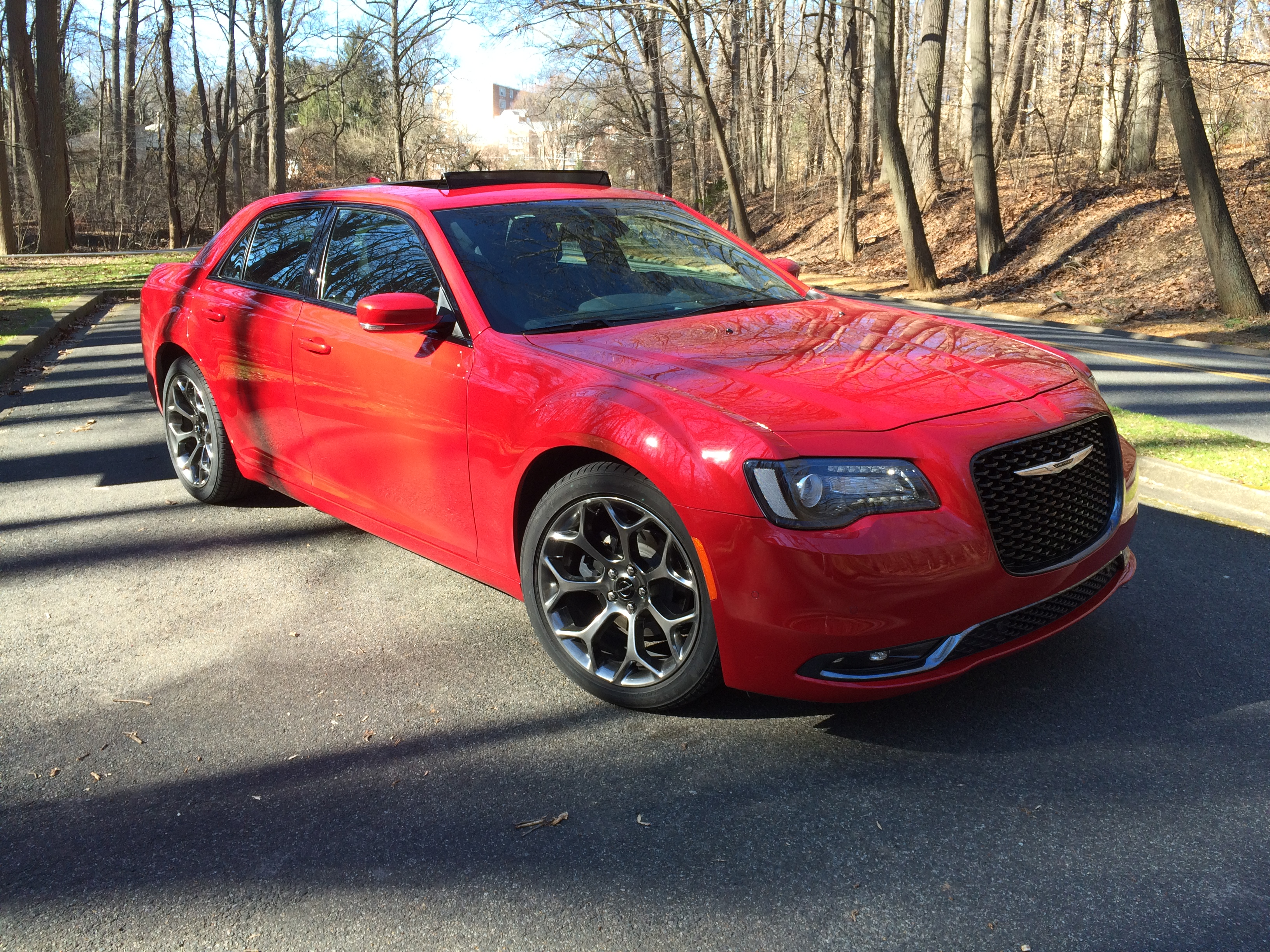 2016 Chrysler 300S: Big sedan with stand-out curb appeal