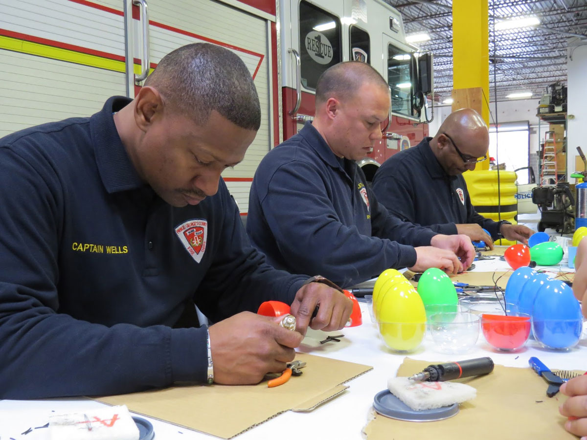 Md. bomb squad makes 'beeping' Easter eggs for visually impaired kids