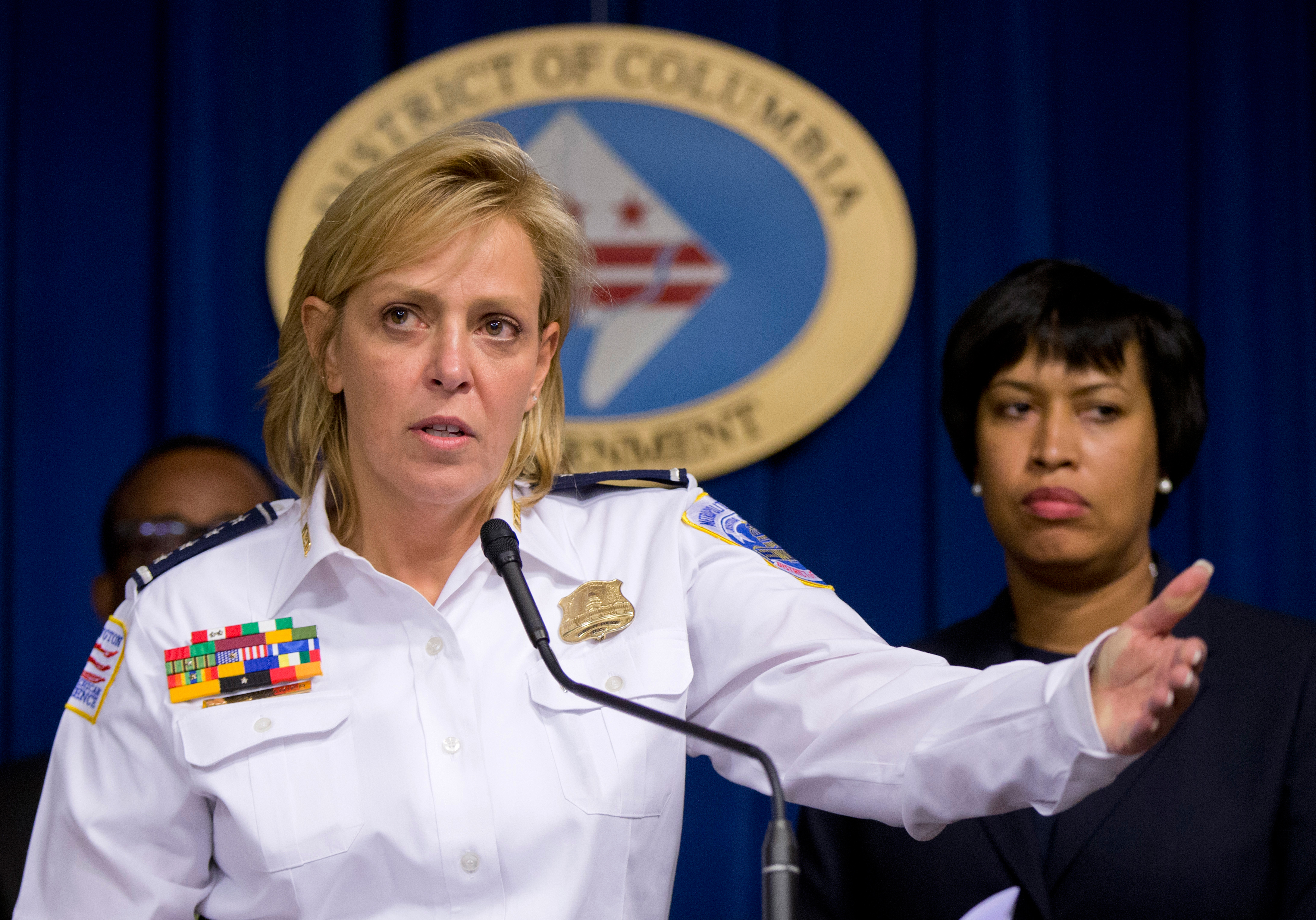 DC Police Chief Cathy Lanier stepping down to head NFL security