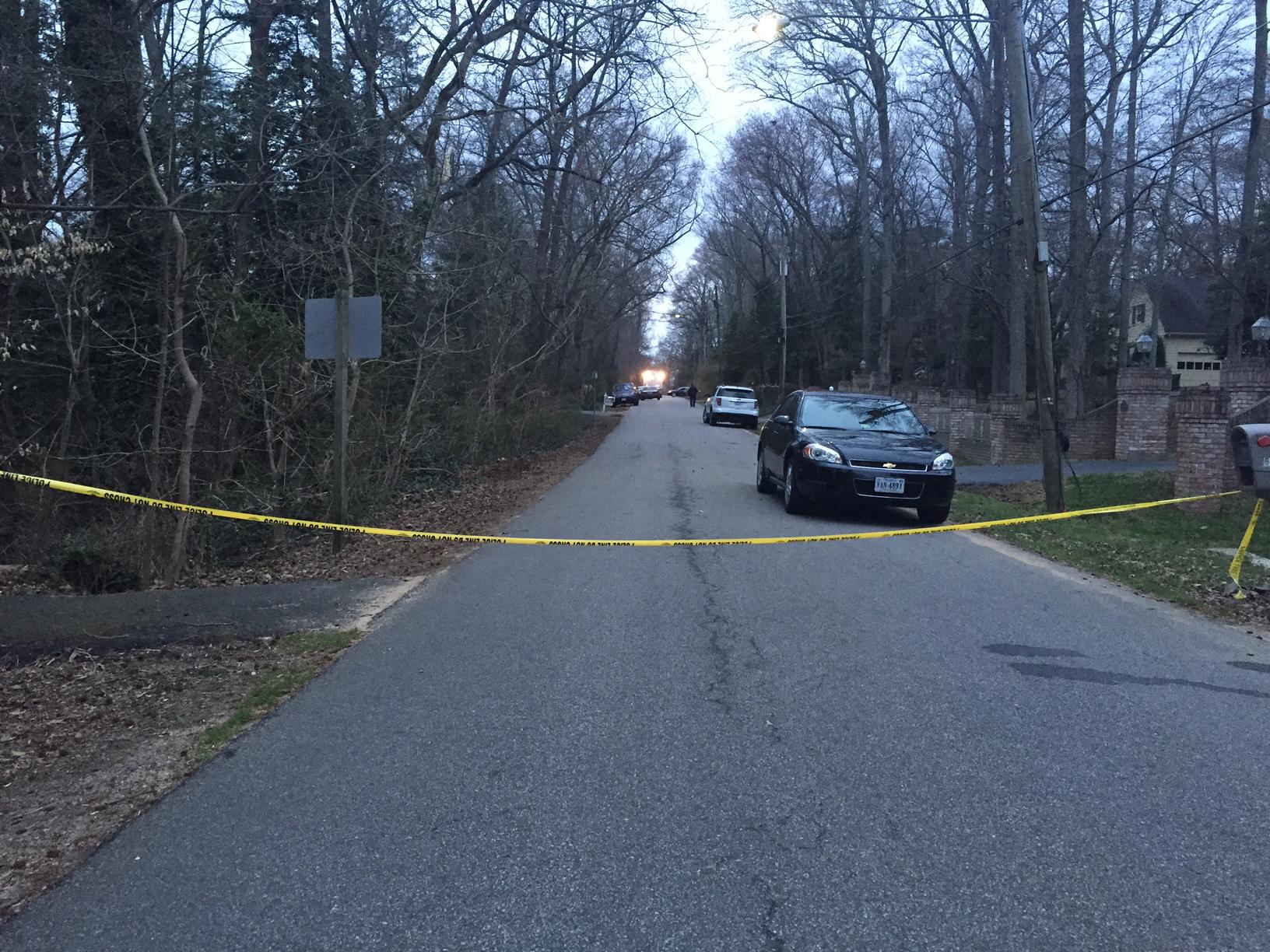 Police investigate suspicious death near riverfront home