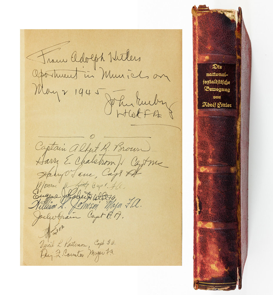 Md. auctioneer to sell Hitler's personal copy of 'Mein Kampf'