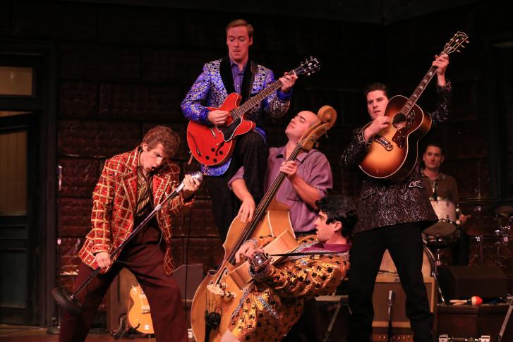 The Cast Jams In National Tour Of Million Dollar Quartet Courtesy Warner Theatre