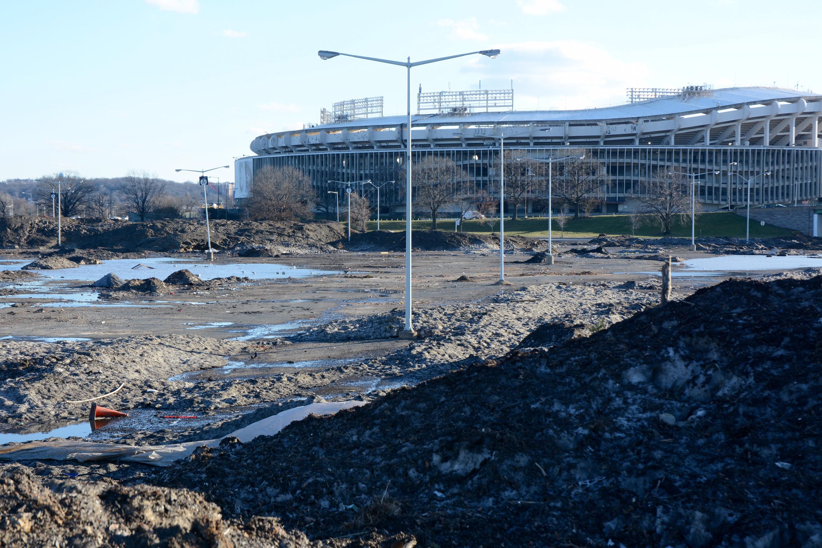 Blizzard's remnants linger at RFK Stadium