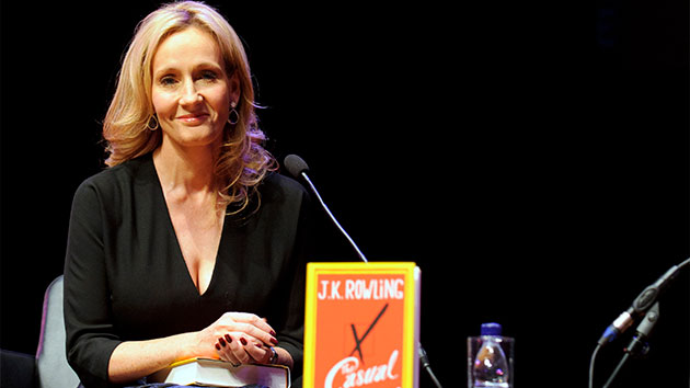 J.K. Rowling shares rejection letters to inspire budding writers