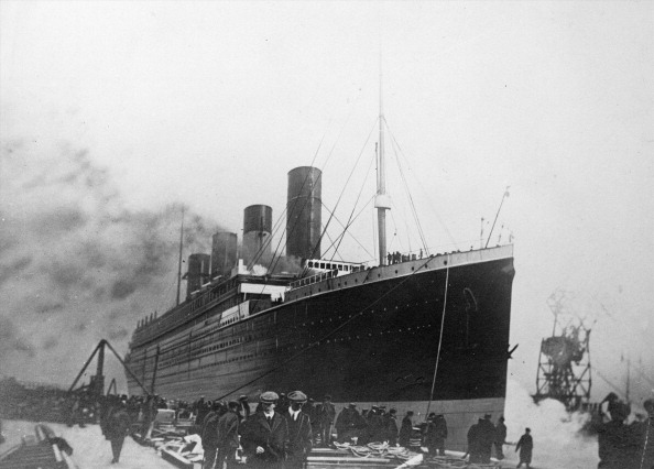 The 'Titanic', a passenger ship of the White Star Line, that sank in the night of April 14-15, 1912.   (Photo by Roger Viollet/Getty Images)