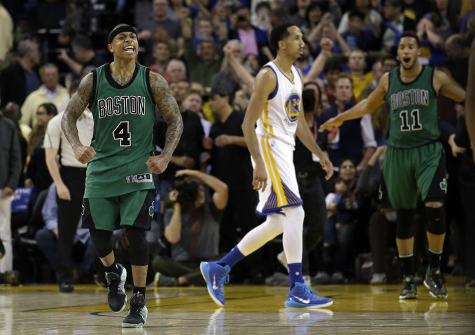 How Did The Boston Celtics Beat The Golden State Warriors?