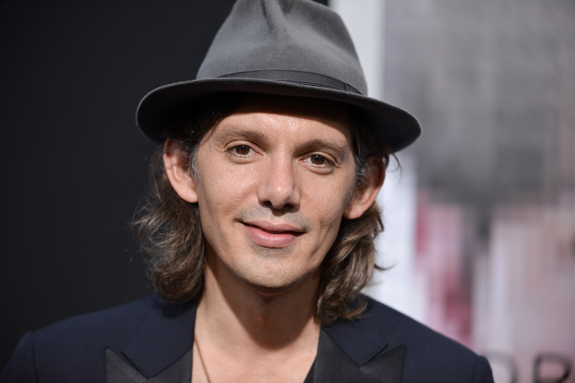 """Lukas Haas arrives at the LA Premiere  Of """"Transcendence"""" on Thursday, April 10, 2014, in Los Angeles. (Photo by Richard Shotwell/Invision/AP)"""