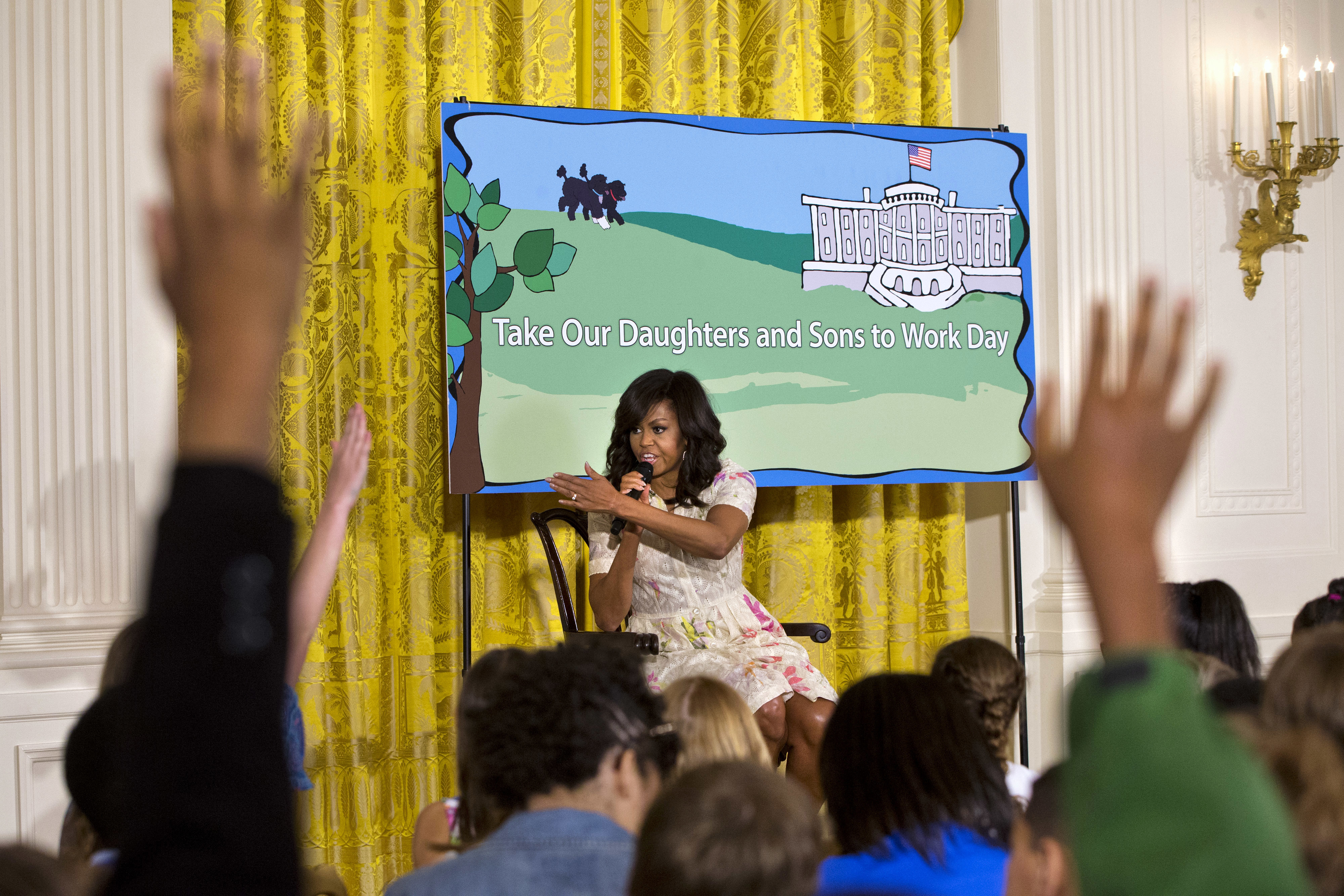 PHOTOS: Take Our Daughters and Sons to Work Day at the White House