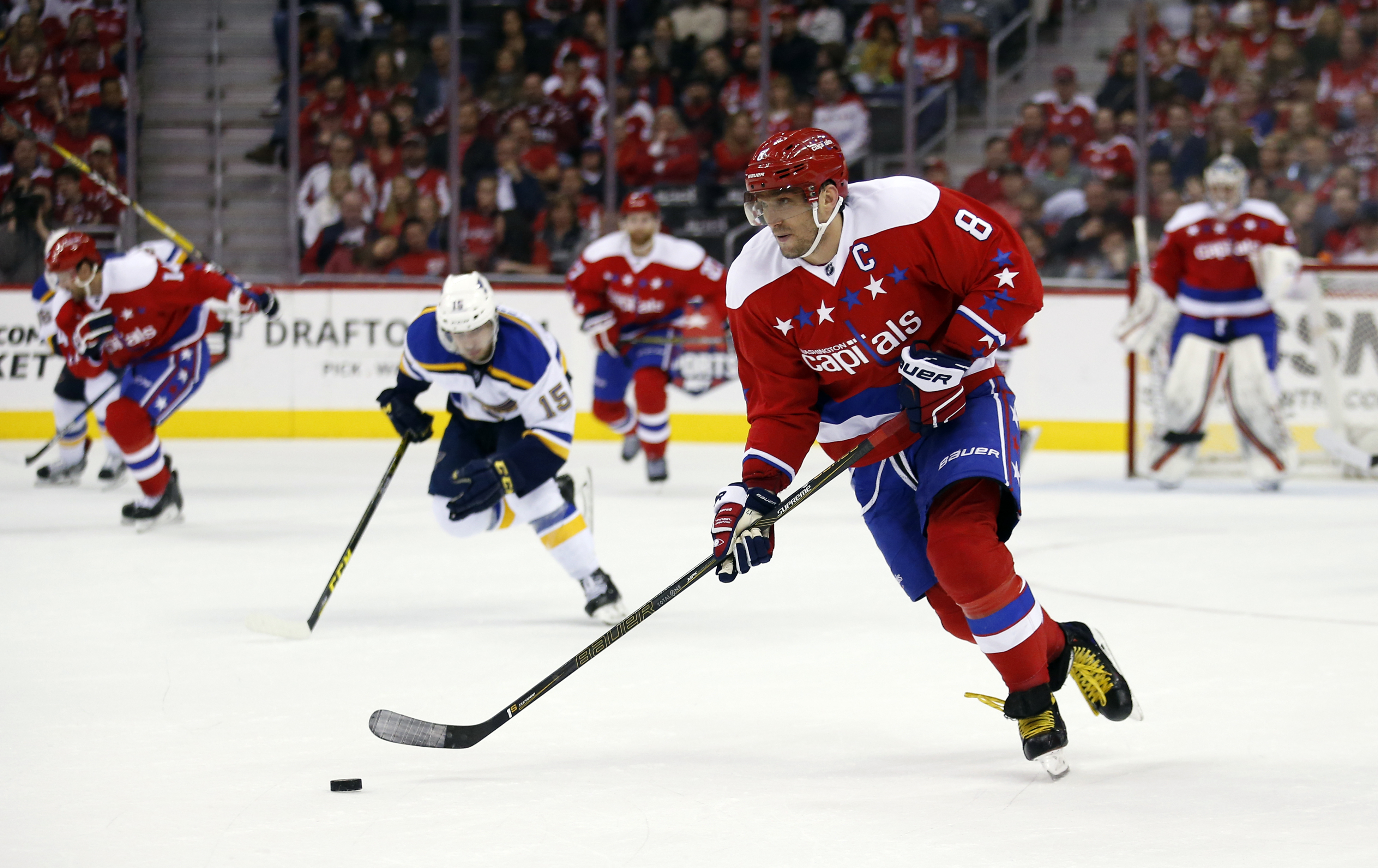 Ovechkin says Caps already excited for playoffs
