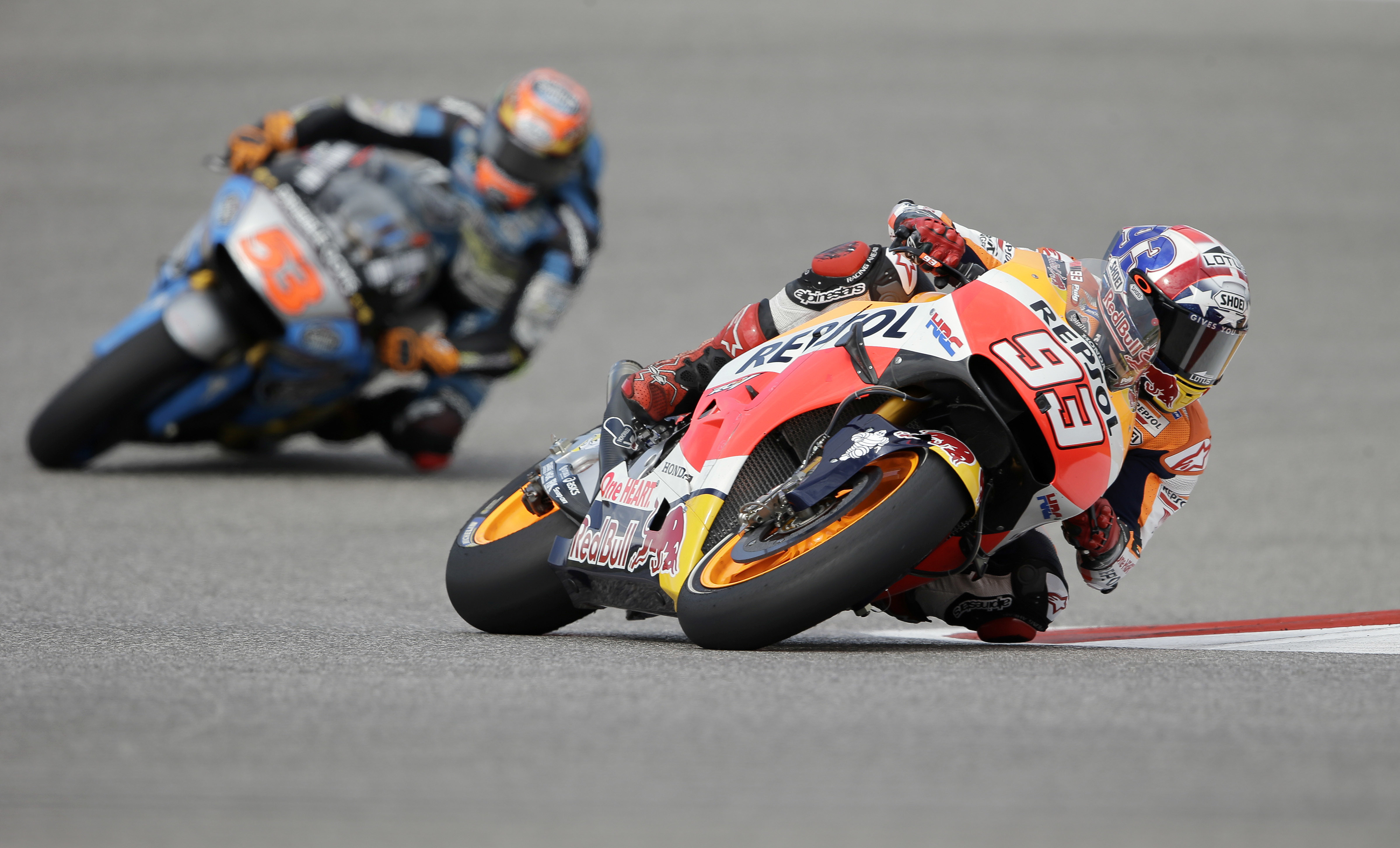 Marquez takes pole position at Grand Prix of the Americas   WTOP