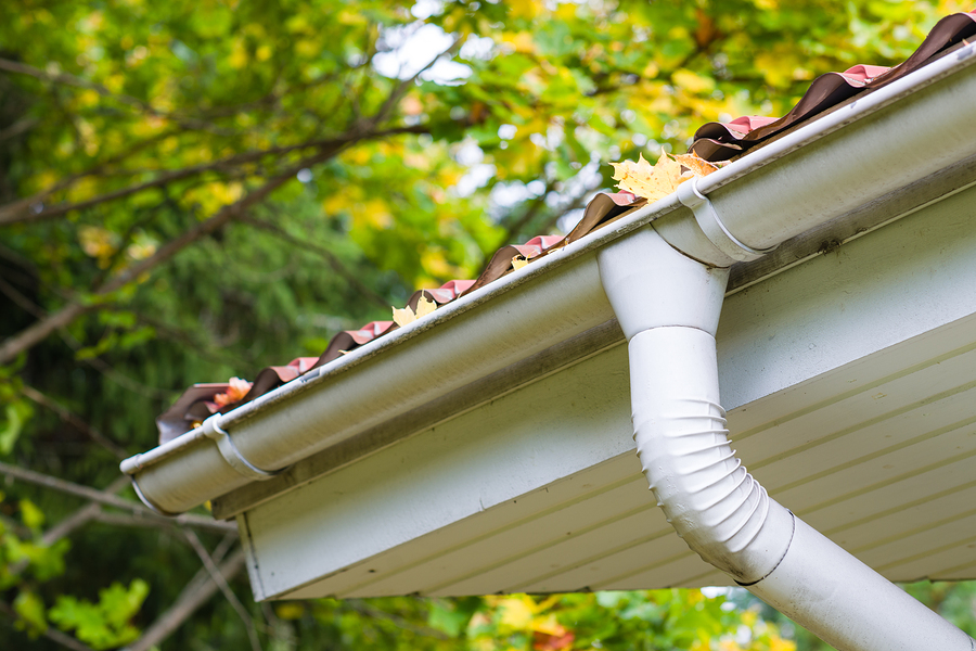 Clogged gutters can destroy your home's foundation