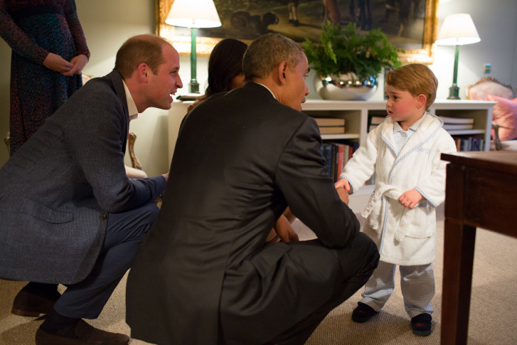 Robe worn by Prince George sells out in minutes