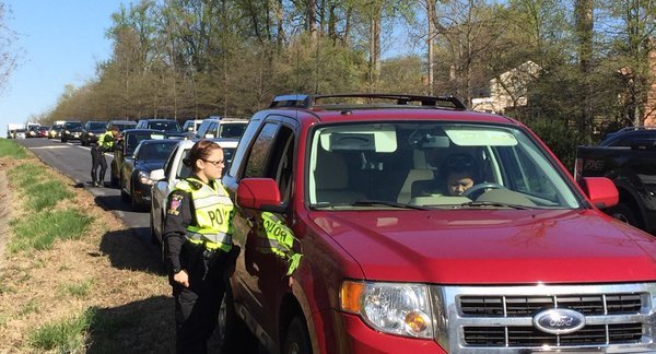 Montgomery Co. police step up efforts to crack down on distracted driving