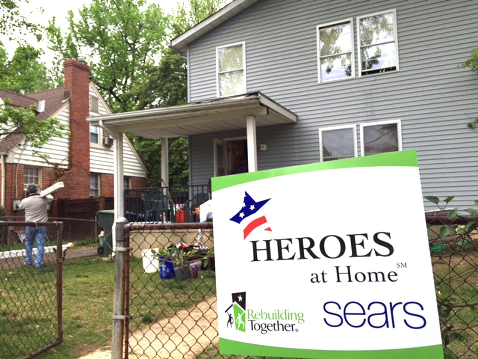 Hundreds in Alexandria, Va. make free home repairs for neighbors