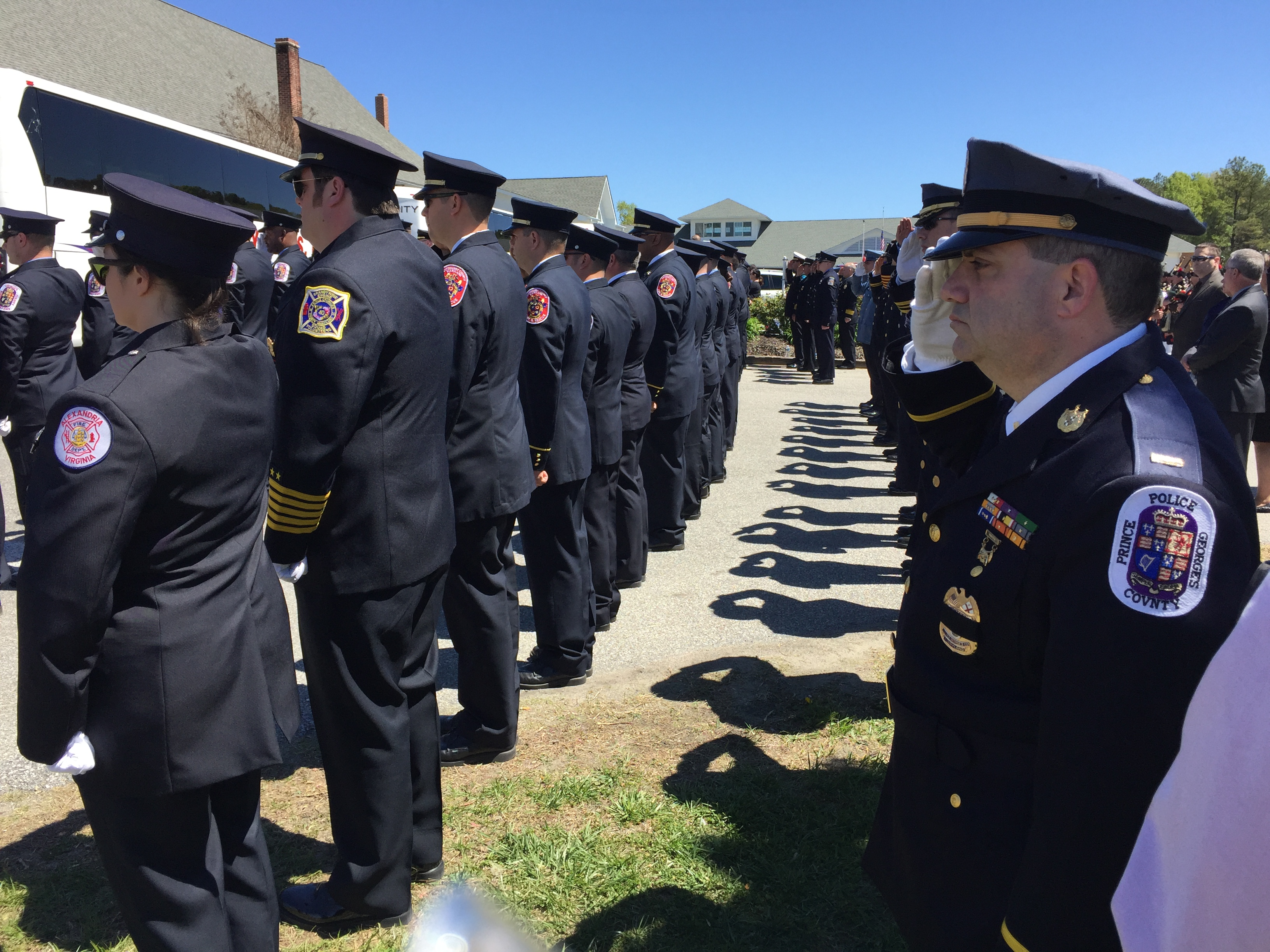 Posthumous promotion for Md. firefighter fatally shot