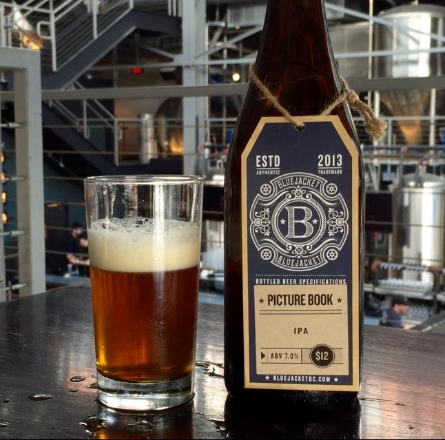 Bluejacket Brewery's Picture Book IPA is this week's Beer of the Week. (WTOP/Brennan Haselton)