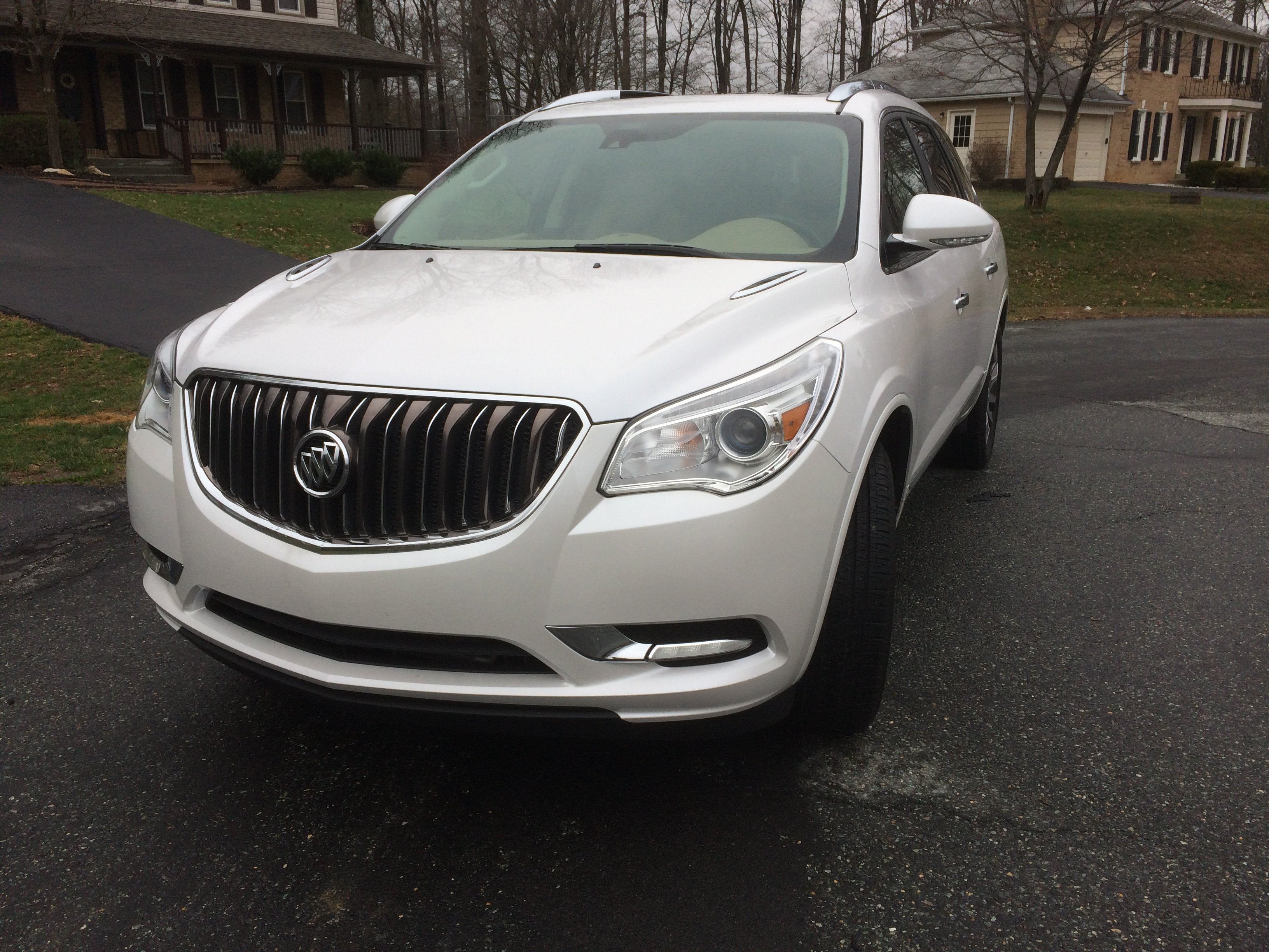 The Buick Enclave: Roomy and updated for 2016