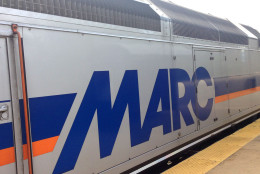 FILE - MARC train. (WTOP/Andrew Mollenbeck)