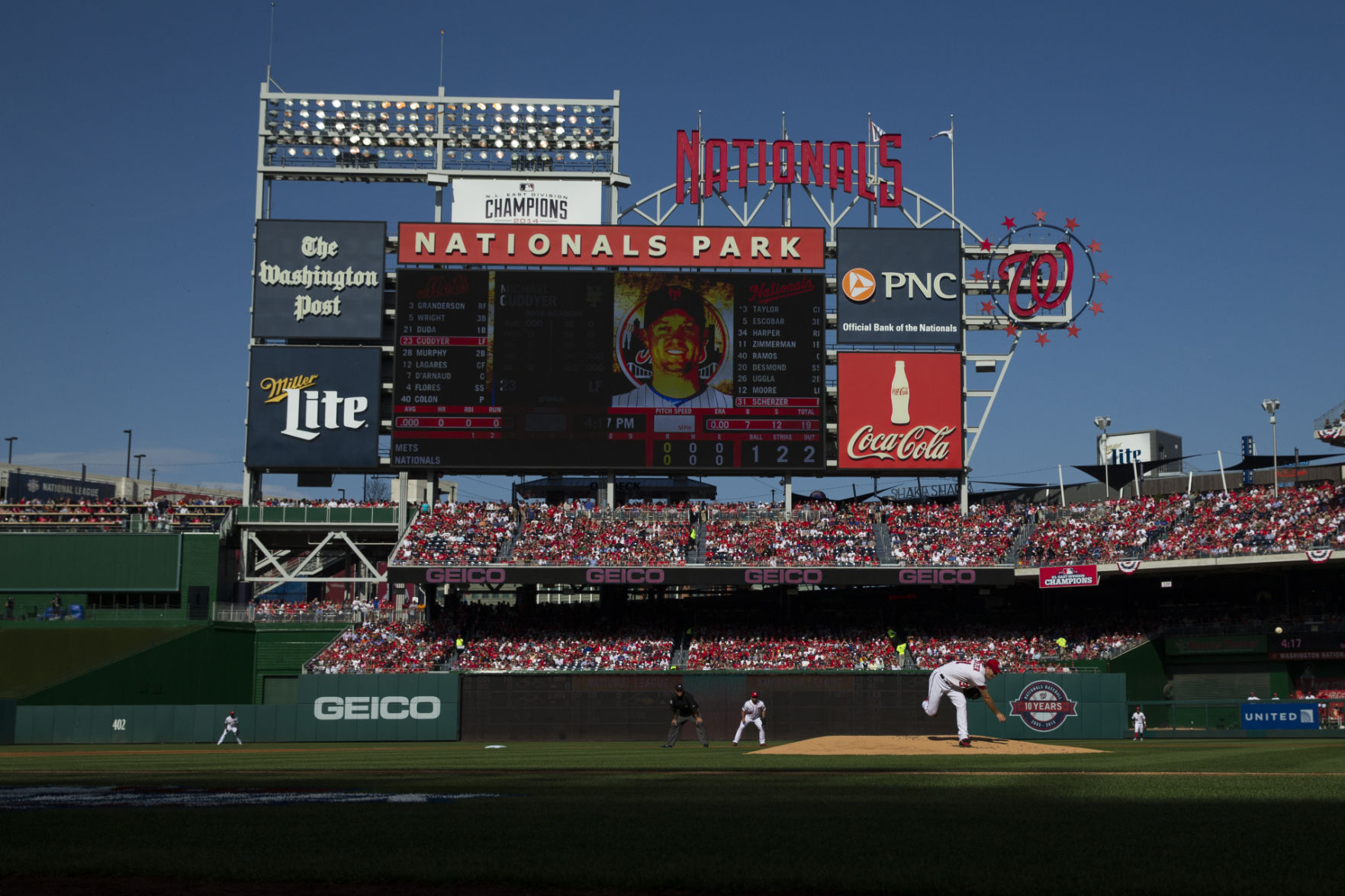 Nationals to honor 25 millionth fan on Opening Day