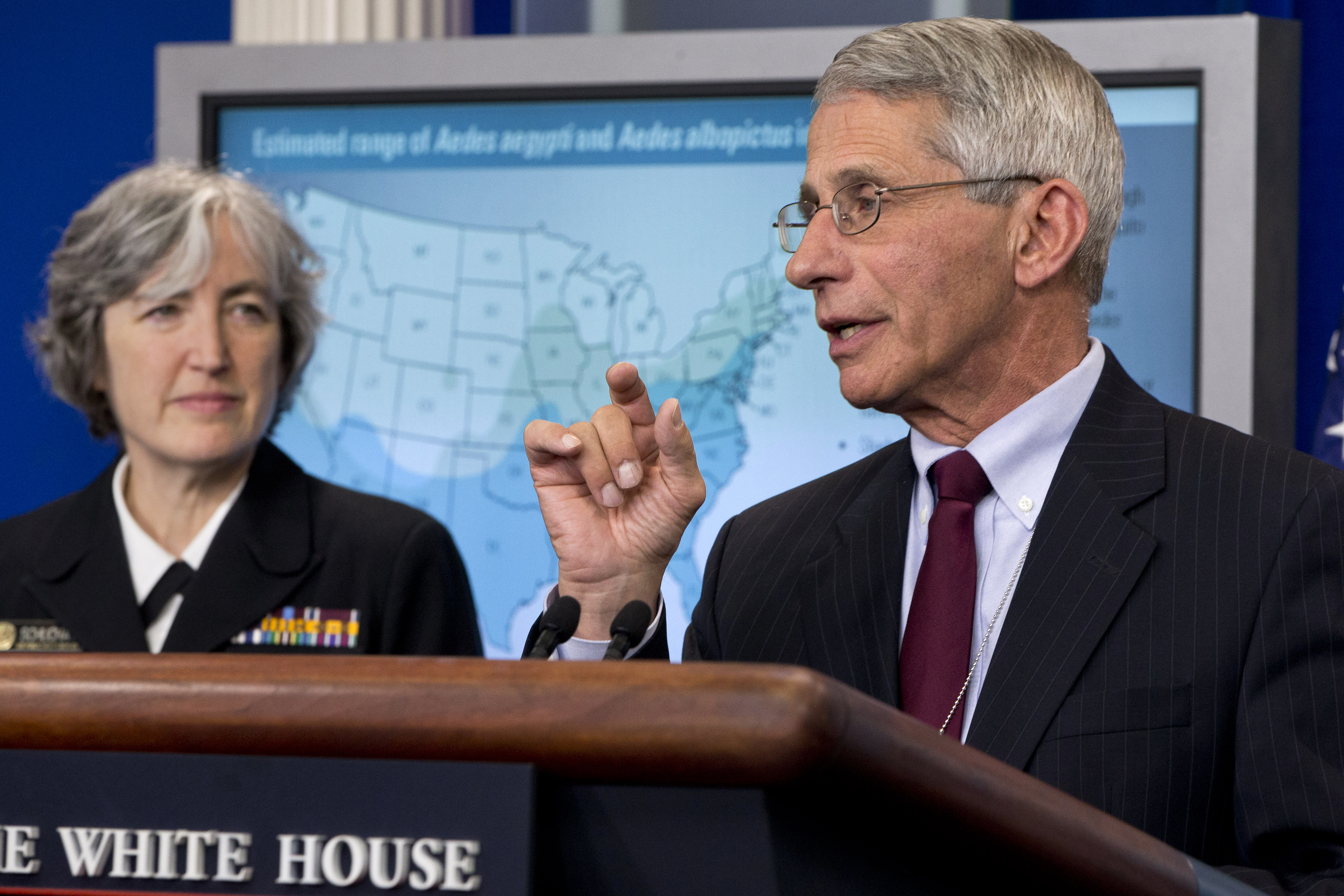 NIH's Fauci says Zika more dangerous than first thought
